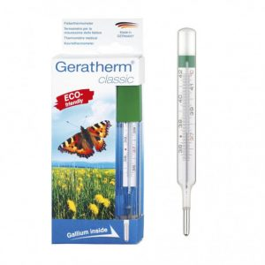 Geratherm Higanymentes lázmérő (1 db)
