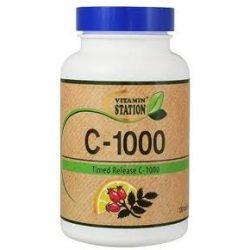 Vitamin Station C-1000 csipkebogyóval (60 db)