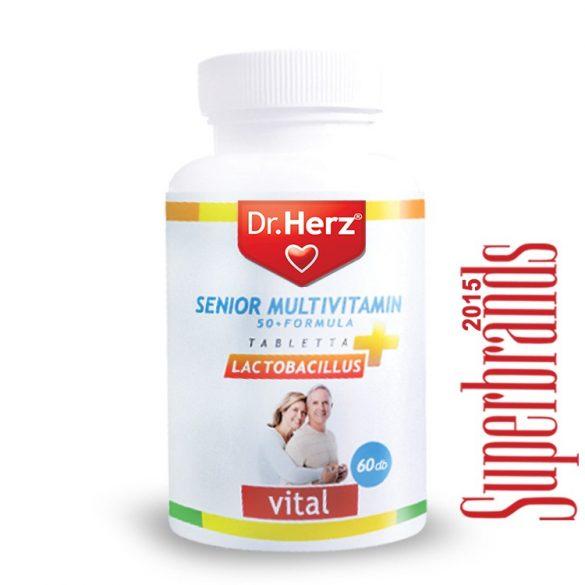 Dr. Herz Senior multivitamin 50+ (60 db)