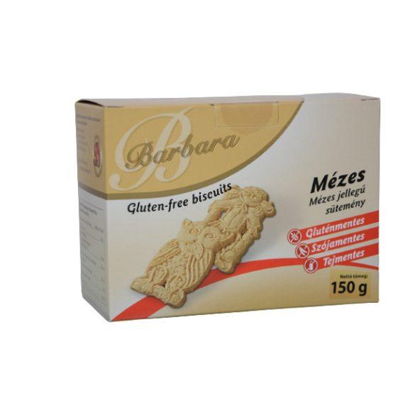 Barbara gluténmentes mese mézes sima teasütemény (200 g)