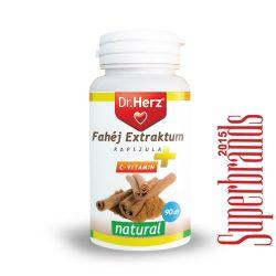 Dr. Herz Fahéj extractum kapszula (90 db)