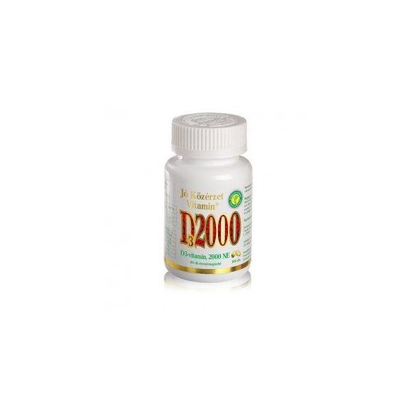 Jó Közérzet Vitamin® D-vitamin, 2000 NE lágyzselatin kapszula (100 db)