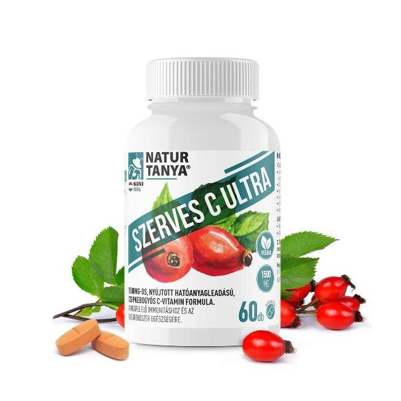Natur Tanya Szerves C-vitamin 1000 mg (60 db)
