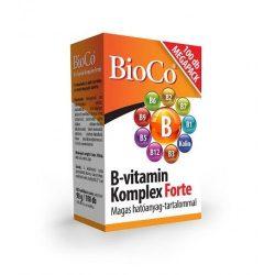 BioCo B-vitamin Komplex Forte (100 tabletta)