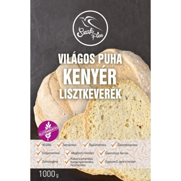 Szafi Free Világos puha kenyér lisztkeverék (1000 g)