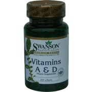 Swanson A&D vitamin (250 gélkapszula)