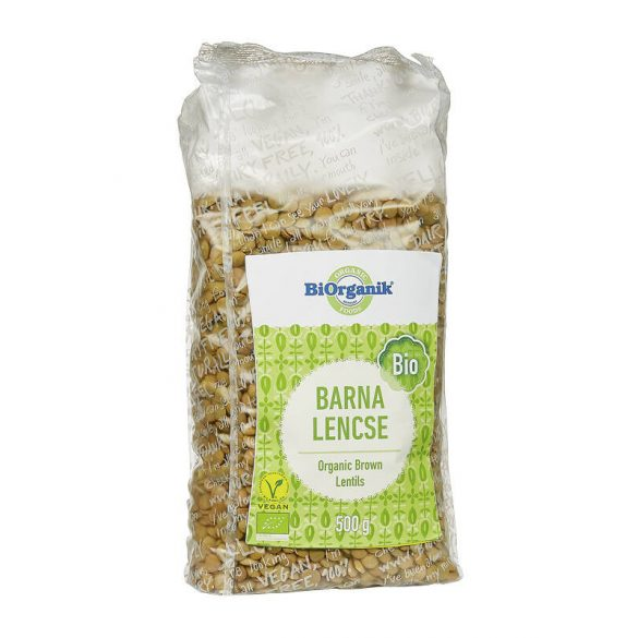 Biorganik BIO barna lencse (500 g)