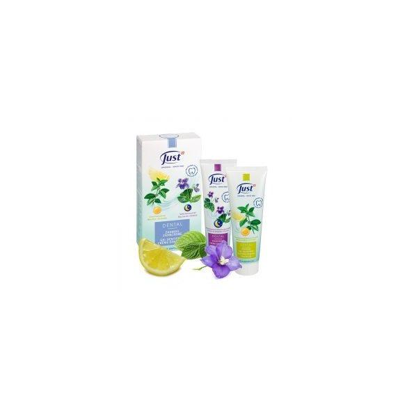 Just Fogápoló gél és fogkrém (2 x 75 ml)