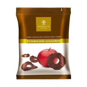 Nobilis Almaszirom Étcsokoládés (50 g)