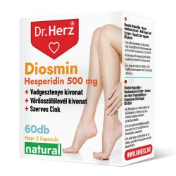 Dr. Herz Diosmin Hesperidin + Fekete áfonya tabletta (60 db)