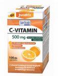 JutaVit C-vitamin 500 mg nyújtott felszívódású + D3 + csipkebogyó kivonat (100 db)