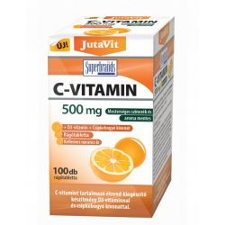 JutaVit C-vitamin 500mg nyújtott kioldódású + csipkeb. + D3 + Cink vitamin (100 db)