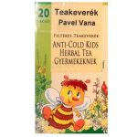 Pavel Vana Anti-Cold Kids meghűlés elleni filteres teakeverék gyermekeknek (20 db)