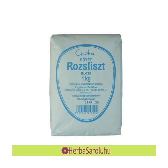 Csuta Rozsliszt sötét RL-125 (1 kg)