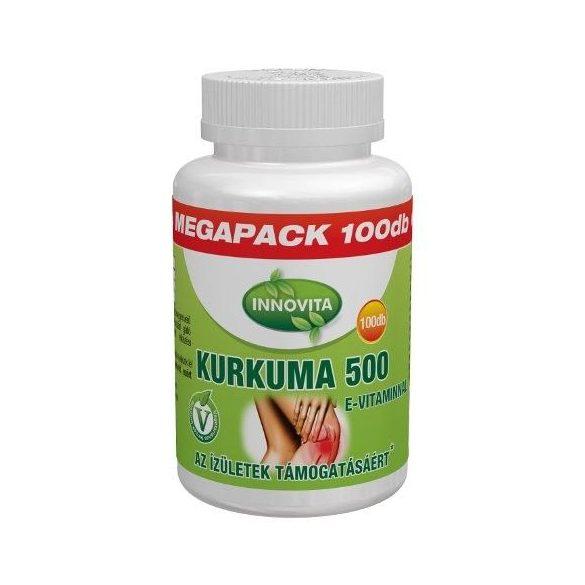 Bioco Innovita Kurkuma 500 mg E-vitaminnal Megapack tabletta (100 db)