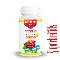 Dr. Herz Rezveratrol (Polyphenol-Combo) kapszula (60 db)