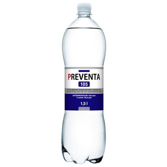 Preventa 105 ivóvíz 32%-al csökkentett deutérium tartalmú szénsavas (1500 ml)