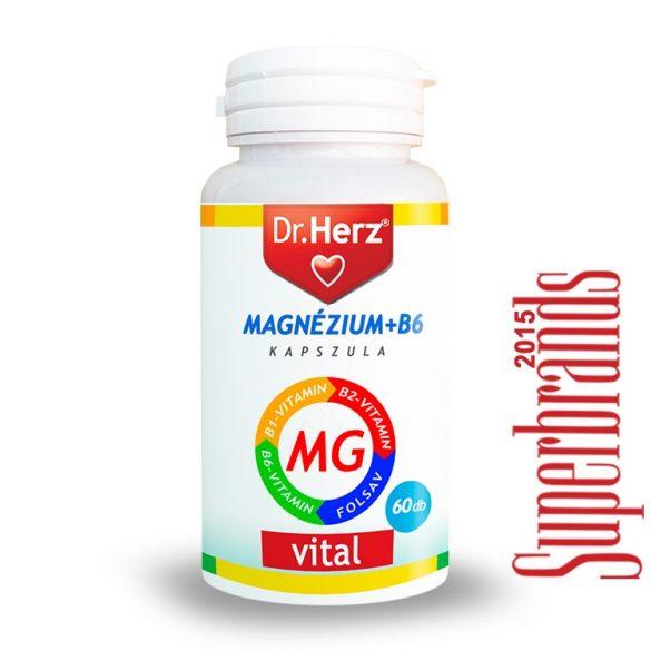 Dr. Herz Magnézium + B6 kapszula (60 db)