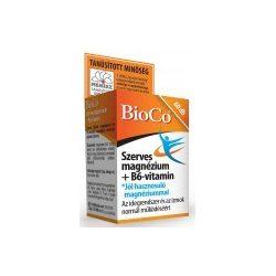 Bioco Szerves Magnézium + B6-vitamin tabletta (60 db)