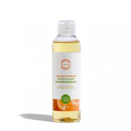 Yamuna Masszázsolaj narancs-fahéj (250 ml)