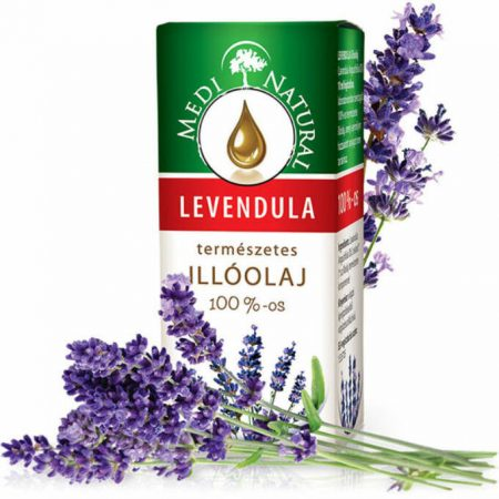 MediNatural 100%-os Levendula illóolaj (10 ml)