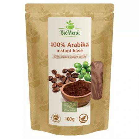 Biomenü bio 100% Arabica instant kávé (100 g)