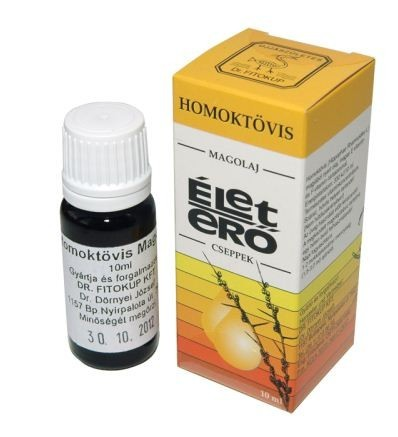 Homoktövis magolaj (10 ml)