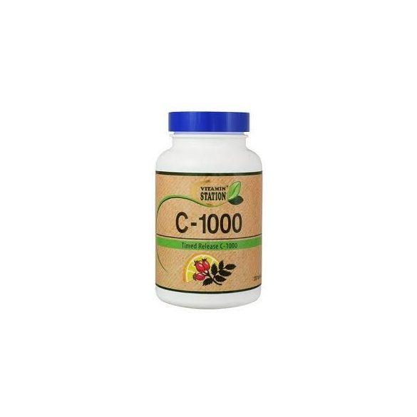 Vitamin Station C-1000 csipkebogyóval (120 db)