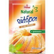 Haas Natural Sütőpor, gluténmentes (12 g)
