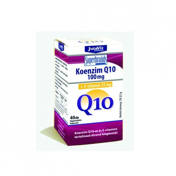 JutaVit Koenzim Q10 100mg +E-vitamin 35mg (40 db)