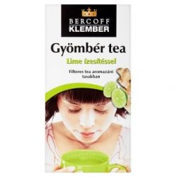 Bercoff Klember Gyömbér-lime tea (40 g, 20 filter)