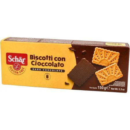 Schär gluténmentes Biskotti keksz csokis (150 g)