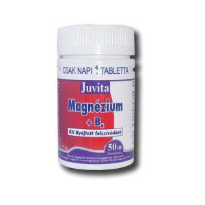 JutaVit Magnézium + B6 + D3 tabletta (50 db)