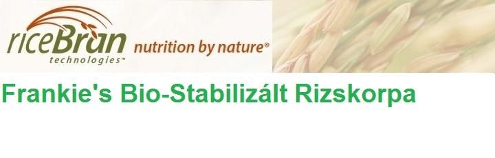 Frankie's Bio-Stabilizált Rizskorpa